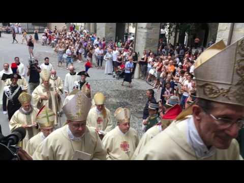 Pierbattista Pizzaballa arcivescovo di Gerusalemme: l'ingresso in Cattedrale a Bergamo