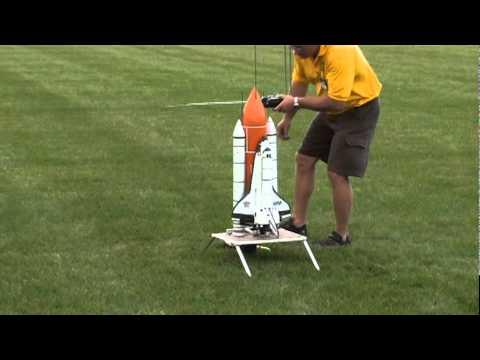 迷你版NASA太空梭發射!