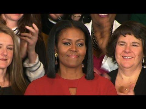 Michelle Obama's entire final speech