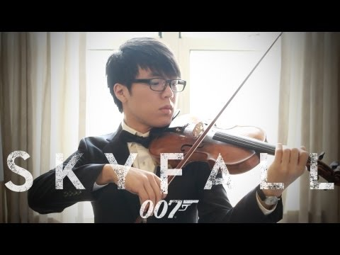 Violin - This is me playing a violin cover of Adele's Skyfall! This video was taken down for copyright issues, but the issues have been resolved and this is a re-uplo...