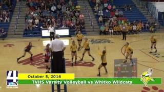 TVHS Volleyball vs Whitko Wildcats