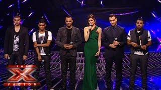 النتائج النهائية - العروض المباشرة - الأسبوع 4 - The X Factor 2013