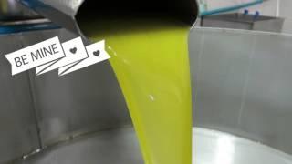 Stáčení olivového oleje