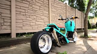 8. Teal GY6 Honda Ruckus