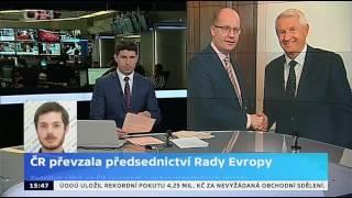 ČR převzala předsednictví Rady Evropy