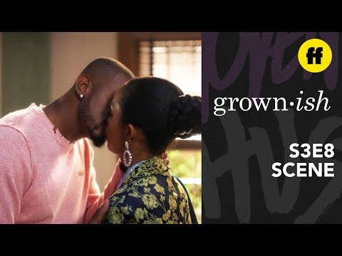 grown-ish Season 3, Episode 8 | Aaron & Zoey Kiss Goodbye | Freeform