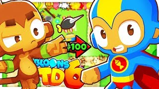 $100 BUYING EVERY KNOWLEDGE BOOK FOR ALL TOWERS - BLOONS TOWER DEFENSE 6 (BLOONS TD 6)