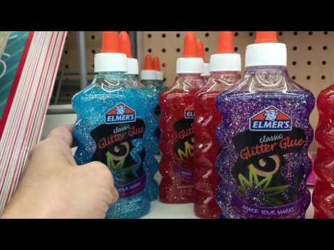 Shopping For Slime Supplies At Walmart + Slime Supplies Haul