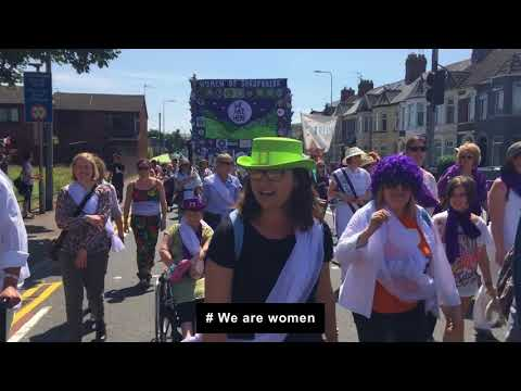 Related Video: PROCESSIONS 2018 - DASH and the Shropshire Subversive Stitchers