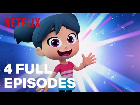 StarBeam Season 1 FULL EPISODE 1-4 Compilation 🌟 Netflix Jr