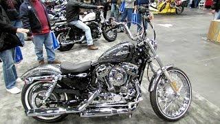 2. 2014 Harley-Davidson Sportster XL1200V Seventy Two Walkaround - 2013 New York Motorcycle Show