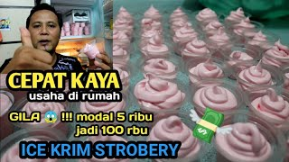 Download Video IDE BISNIS paling GILA !!! ICE KRIM STROBERY MP3 3GP MP4