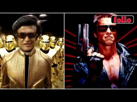 Is It Rajinikanth vs Arnold Schwarzenegger For Enthiran 2?