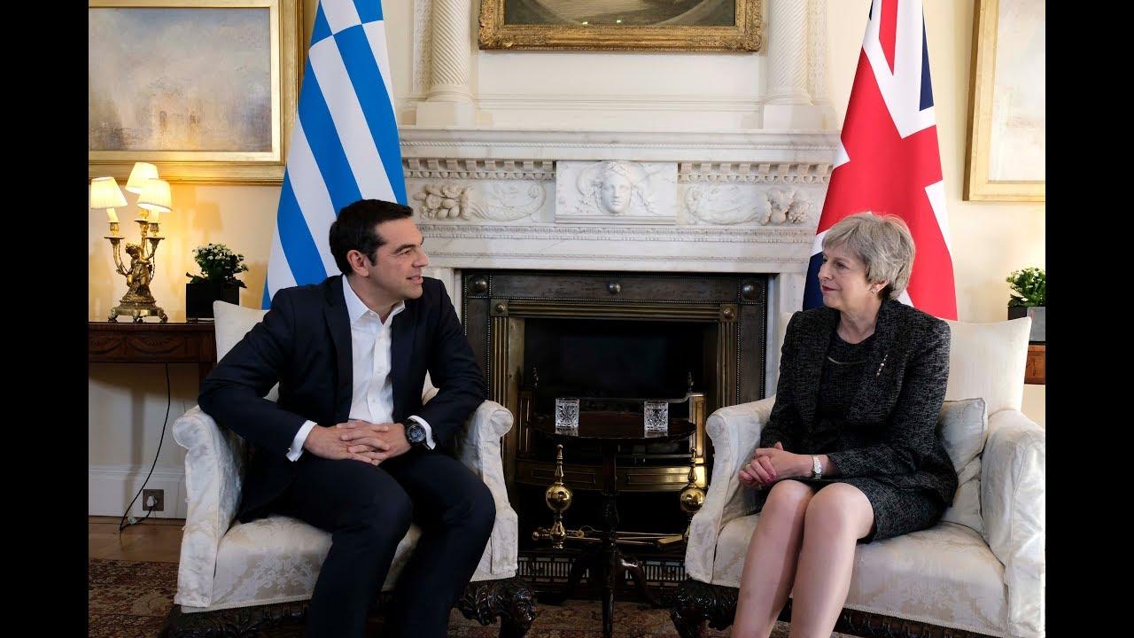 Συνάντηση με την Πρωθυπουργό του Ηνωμένου Βασιλείου Τερέζα Μέι