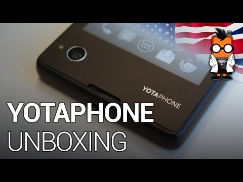 unboxing - YotaPhone Unboxing - http://www.mobilegeeks.com - We unbox the new YotaPhone. The dual-display smartphone will be available before Christmas in Germany. The ...