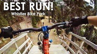Video The Best Freeride MTB Line Down Whistler Bike Park - GoPro MP3, 3GP, MP4, WEBM, AVI, FLV September 2017