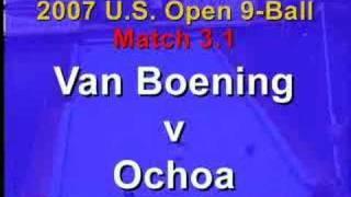 BCn: 2007 US Open 9-Ball Match 3.1: Van Boening Vs. Ochoa