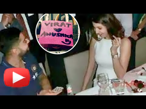 Virat & Anushka Love-Locked In Paris