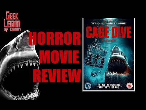 OPEN WATER 3 : CAGE DIVE ( 2017 Joel Hogan ) Shark Attack Horror Movie Review