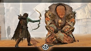 SHADOW OF WAR - UNIQUE BLACK BETRAYS OVERLORD DARK TRACKER DIFFICULTY NEMESIS IN DESERT