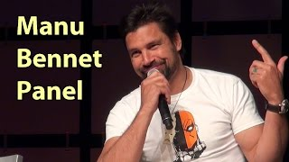 Manu Bennett HD Comicon with Full Haku 2014 Hobbit LOTR Spartacus Arrow Phoenix Comicon - YouTube