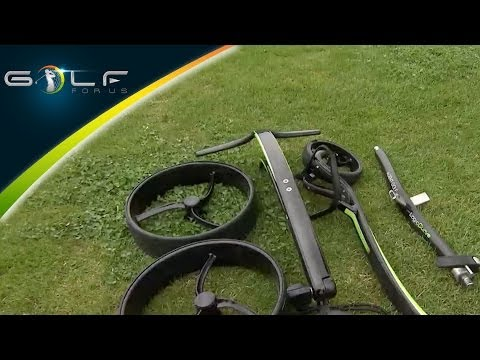 Golf - Push Trolley Equipment Test (German)