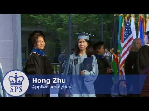 Columbia University School of Professional Studies Spring 2018