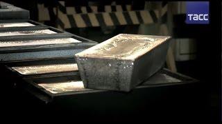 """Процесс производства """"эталонного серебра"""""""