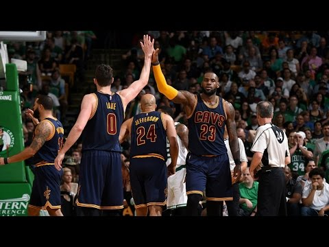 All-Access: LeBron James Leads Cavs to Game 1 Victory over Celtics