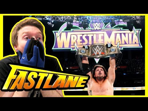 REACTION: WWE FASTLANE SIX PACK CHALLENGE