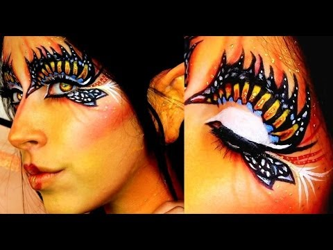 Halloween Makeup Butterfly