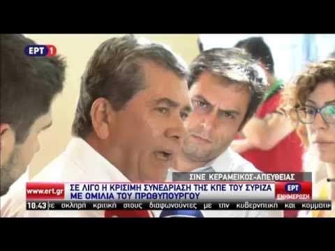 Δήλωση του Αλ. Μητρόπουλου πριν την έναρξη της ΚΕ του ΣΥΡΙΖΑ