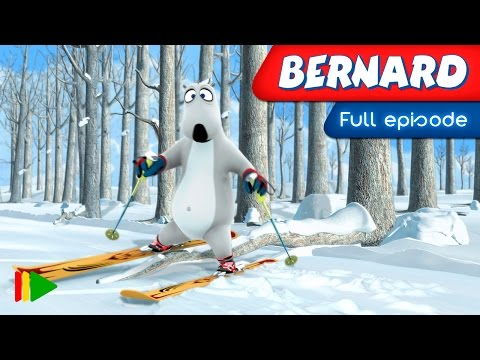 Bernard Bear - 110 - Skiing