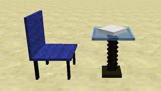 Chair&Dining Table in Minecraft