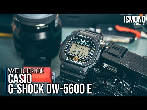 Most Durable Watch. Casio G-SHOCK DW-5600 E Quicklook