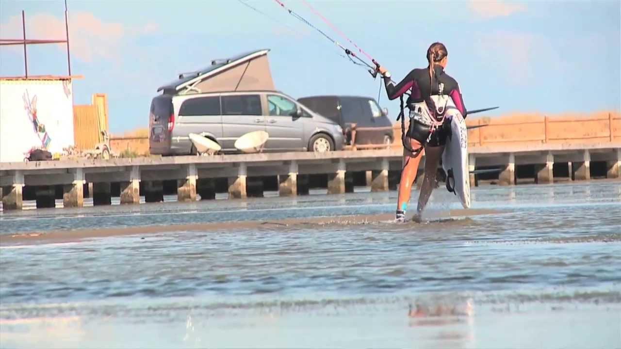 EVASIÓN TV: Escapadas: Kite Surf en terres de l'Ebre con Núria Gomà