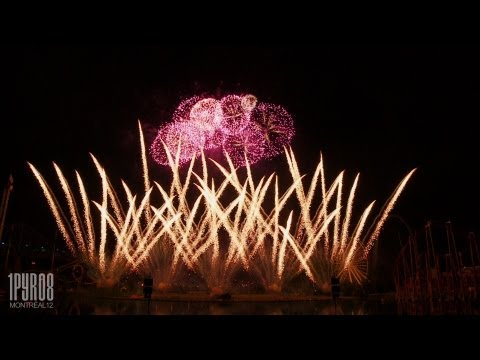 | HD | Feux d&#8217;artifice Montral 2012 &#8211; Japan (Feuerwerk, fireworks)