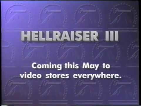 Hellraiser III: Hell on Earth (1992) trailer