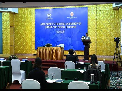 Xây dựng năng lực APEC về thúc đẩy kinh tế số