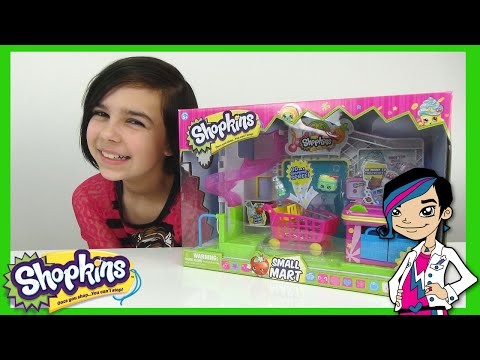 small - Shopkins - Small Mart Play Set Toy Review with 2 Cute Exclusives. Thank you for watching! RadioJH Auto! https://www.youtube.com/RadioJHAuto RadioJH Games! https://www.youtube.com/RadioJHGames...