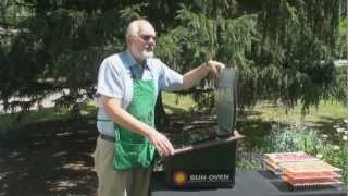 Find out how Sun Ovens can double as a solar powered dehydrator. See sun dried tomatoes and jerky. Learn the benefits of having a way to dehydrate in a ...