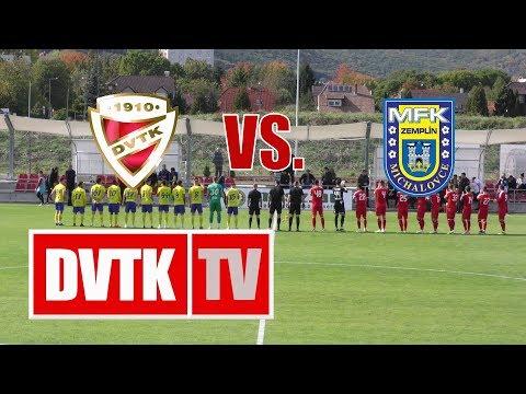 2019. október 11. | DVTK - MFK Zemplín Michalovce 1-1 (1-1)