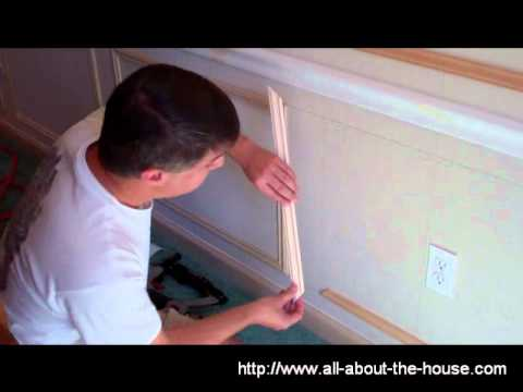 molding - http://www.all-about-the-house.com/trim-work-design-tips-from-casing-to-crown-molding/ Construction of a dining room shadow box (wall frame) is illustrated s...