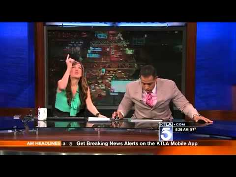 This Anchorman's Reaction To An Earthquake Is Hilarious