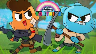 Playing With Gumball Watterson! - The Amazing World of Fortnite Battle Royale!