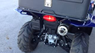 7. 2011 SUZUKI 500 KING QUAD 4X4 WITH LOW AND POWER STEERING