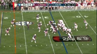 Corey Lemonier vs Alabama (2011)