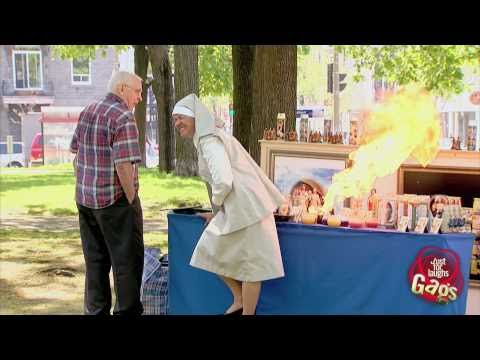 [Just4Laughs Gags Vol 1] Tập 82: Nun Lights Fart On Fire
