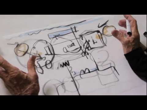 architect - Santa Barbara architect Barry Berkus takes us through the process he used to design the Padaro Lane Residence in Southern California. He demonstrates his con...
