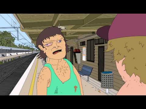 The most accurate representation of the Australian Bogan I have ever seen. If it wasn't a cartoon, I'd swear it was a documentary.